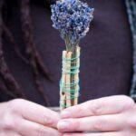 Spirituaalne viiruk kadaka ja lavendliga