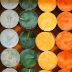 Vikerkaare küünlad kinkekarbis 7tk